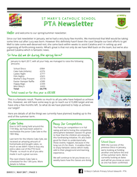 St Mary's PTA Newsletter May 2017